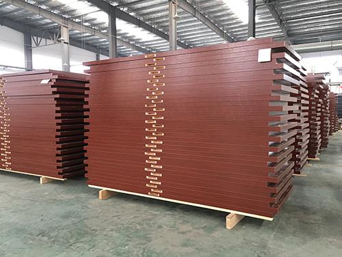 免漆木门生产厂家金马首生产过程中的木门