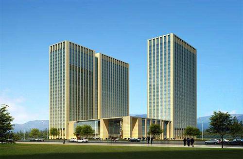济南海尔绿城玉兰广场商务办公楼木门工程