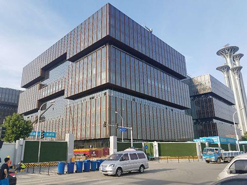 亚洲金融大厦木门工程