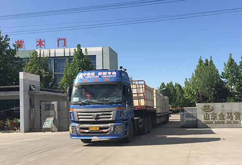山东木门生产厂家金马首施工的哈萨克斯坦世博中心项目