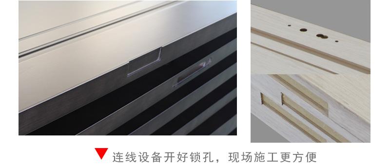 阳光大姐教育基地项目木门细节图