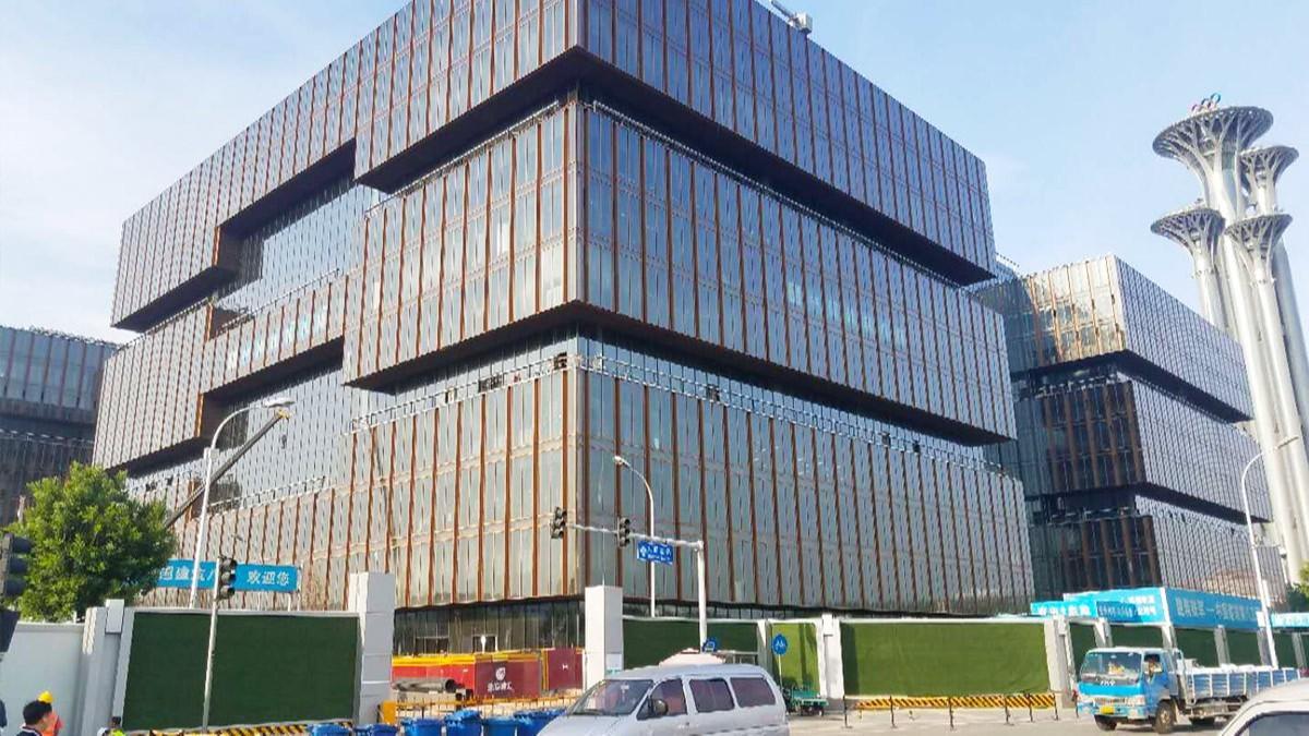 金马首丨北京亚洲金融大厦木门工程