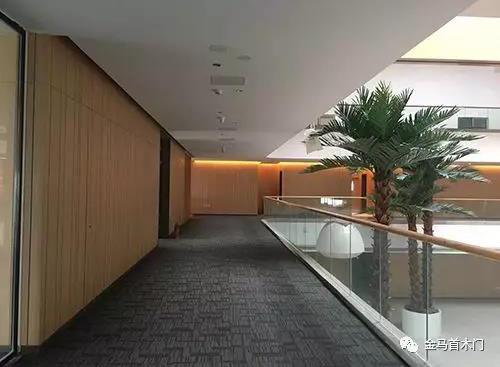 山东实木复合门生产厂家金马首-东盟国际生态城会展中心内部