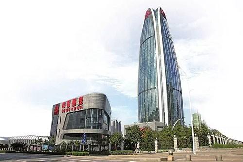 重汽科技大厦外观-品牌木门生产厂家金马首