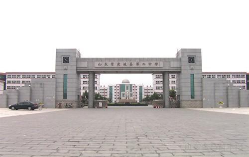 武城二中木门工程-金马首木门