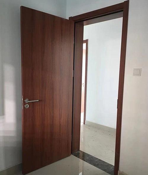 山东免漆门生产厂家金马首免漆门安装效果